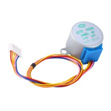 12V 27mm Valve Gear Stepper Motor Subminiature Phase Step Motor Reducntion New 28BYJ-48 DC 12V(China)