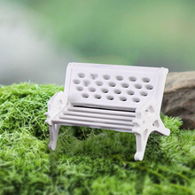 2PCS Miniatures Dollhouse Furniture Mini Chair Bench Stool Ornaments Wooden Props for For Kids Children Pretend Play Doll Toys
