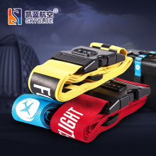 Personality Packing Tape with Password Buckle Luggage Strap for Travel Bag  Package Belt  for Pilot Aviation Lovers Flight Crew