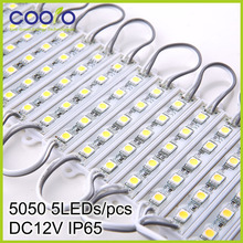 DC12V 5050 5LEDs LED Modules IP65 waterprood,LED Sign Backlight Modules,Advertising Light Box Modules,20PCS/Lot,free shipping