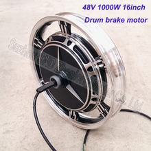"Customized 48V60V72V 1000W electric bike hub motor 16inch * 2.5""/3.0"" wheel scooter brushless hub motor G-M048"