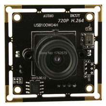 H.264 30fps 1280x 720 Linux Android Mac Windows UVC free driver cmos board module oem usb video camera with microphone(China)