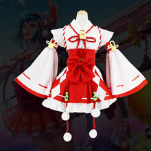 King of the glory cos clothes big Joe skin Ise witch anime cosplay costumes full range of maid clothes maid
