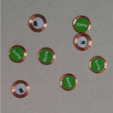 10pcs/lot 125Khz EM4100 RFID read only Coin tag 20mm diameter 0.5mm thick coil ultra thin slim(China)
