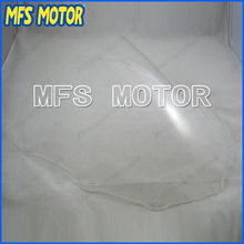 Transparent Motorcycle Windshield/Windscreen For Kawasaki ZX7R 1996-2006 97 98 99 00 01 02 03 04 05(China)