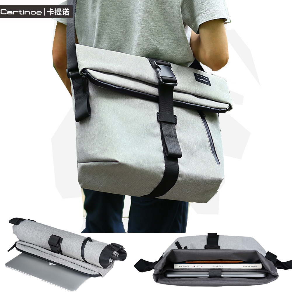 2017 Casual Laptop Bag 15 14 inch Notebook Shoulder Bag Case for Macbook Air 15 Cover Pro 15 Retina Sleeve Men Messenger Bags<br><br>Aliexpress