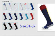 European Cup Team Kids Childern Football Socks Soccer Breathable High Quality For 31-37