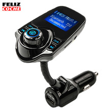 FM Transmitter Bluetooth Handsfree Car Kit MP3 Music Player Radio Adapter With Remote Control iPhone/Samsung A1210