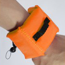 CES-waterproof floating strap / wrist strap for GoPro HD Hero 2 3 camera(Orange)