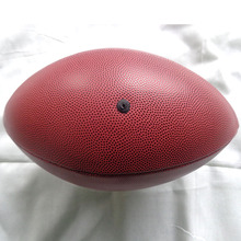 Whole Sale 50pcs/lot Sports training Size 9 American football sewing Rugby PVC leather rubber(China)
