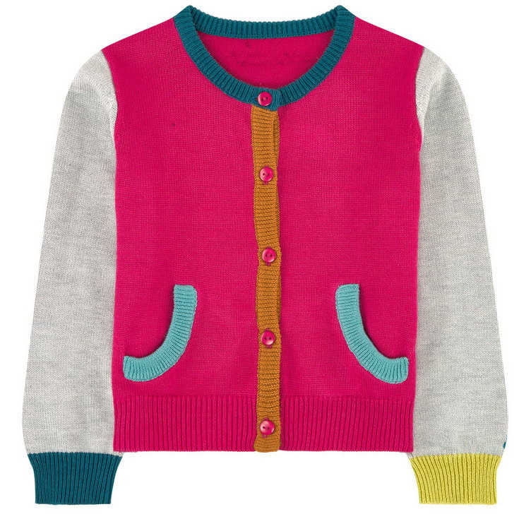3-6 girls knit cardigan sweater<br>