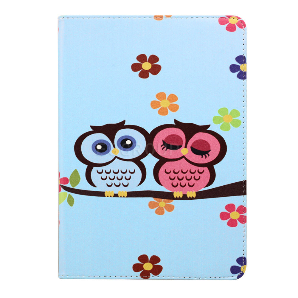 2015 New Owl PU Leather case for Apple iPad Air 2 Smart cover for ipad 6 flip cases with stand function<br><br>Aliexpress