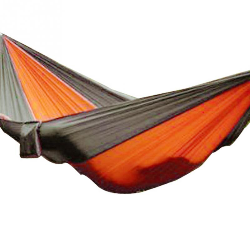 1 PC Portable Double Outdoor Hammock Travel Camping Swing Bed Parachute Cloth for 2 persons<br><br>Aliexpress