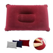 3 Colors Portable Size Airplane Inflatable Pillow Travel Accessories Comfortable Pillows for Sleep Home Textile(China)