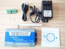 Burglar Home Alarm Security GSM SMS Wireless Remote Controller System 2I/2O S130