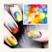 1sheets Fashion White Flower Beauty Polish Items Nail Art Decals French Tips Water Transfer Tattoos Stickers Nail Tool