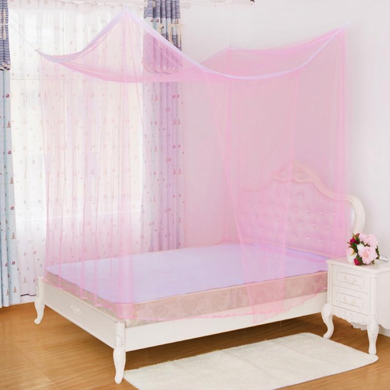High Quality Quadrate Single Door Mosquito Net Home Simple Design
