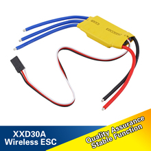 1pc/4pcs XXD 30A Brushless RC BEC ESC Brushless Motor Speed Controller  for Helicopter Boat Airplanes Parts & Accessories