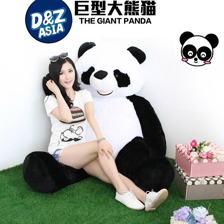 large stuffed Panda doll hug panda cute giant plush toys doll creative Valentines gifts birthday gifts<br><br>Aliexpress
