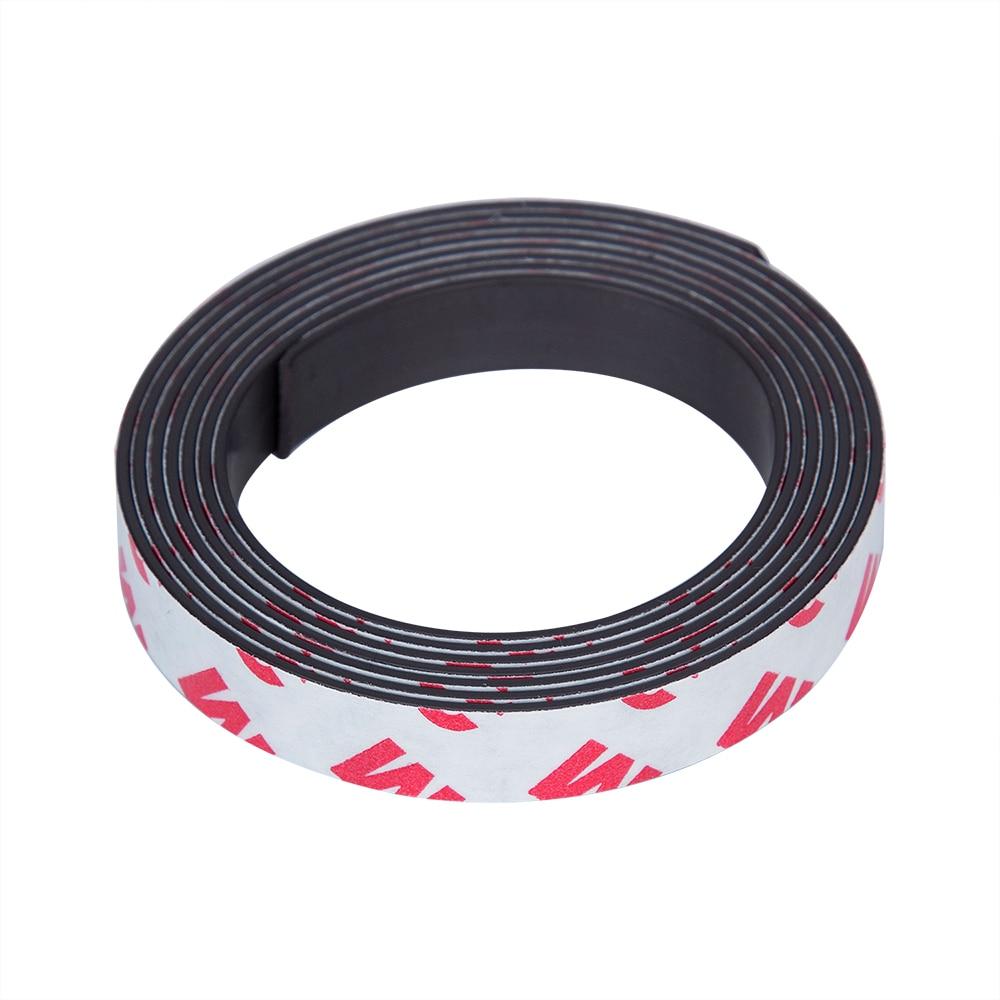 Magnet nastro 1000/mm x 10/mm larghezza rosso nuovo