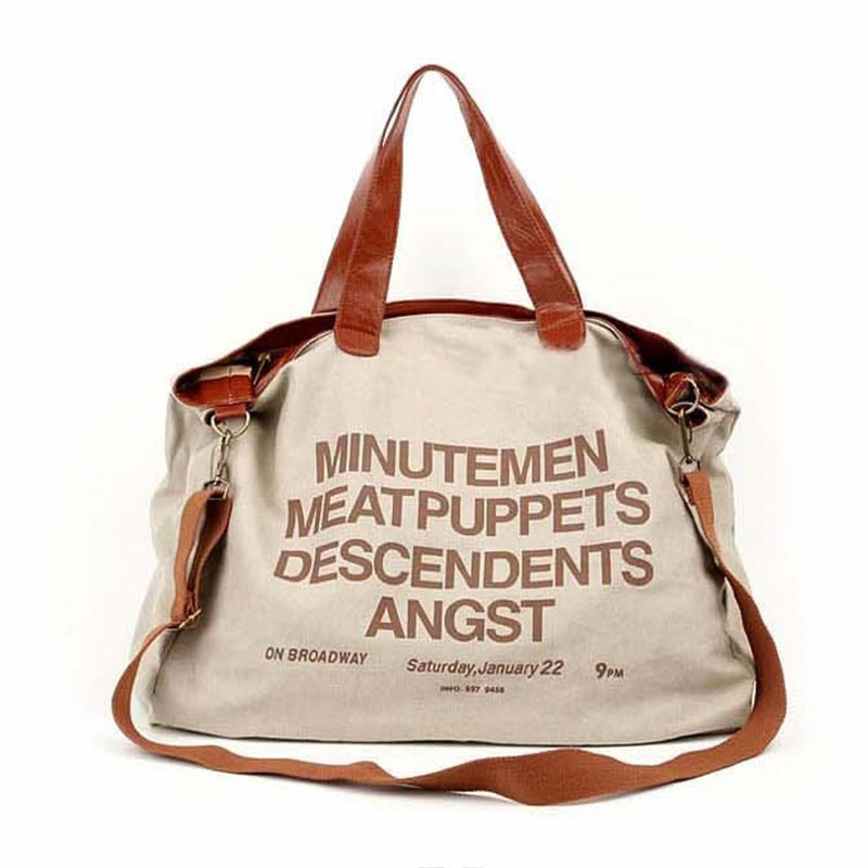 2017 Vintage Women Messenger Bags Canvas Shoulder Hand Bag Fashion Ladies Business Crossbody Bag Printing Brief Travel Handbag<br><br>Aliexpress
