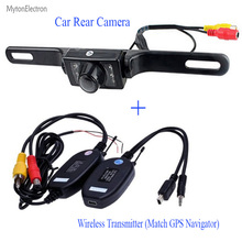 2.4G  waterproof Car quality Rear View Camera Backup Parking Camera Russia Waterproof night vision Car RearView Camera For GPS