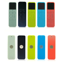 6 Colors Protective Dustproof Case Silicone Cover for Apple TV 4 Remote Control Protection Holder Waterproof Dust Protector 1PC(China)