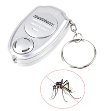 1pc Creative 55*35*15mm Ultrasonic Mosquito Repeller Pest Bug Repellent Insect Keychain Control Anti Mosquitos Insect Control(China)