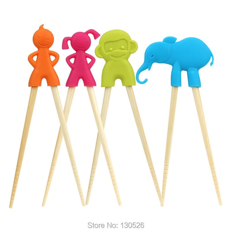 Kids Baby Chopstick Learning Helper Children Cartoon Training Beginner Chopstick