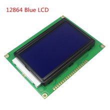 128*64 DOTS LCD module 5V blue screen 12864 backlight ST7920 Parallel port - 3D printer series& For Arduino store