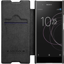 Buy Flip Case Sony Xperia XA1 Plus Original NILLKIN Qin Series Leather Lid Case Cover Sony Xperia XA1 Plus Phone Cover Case for $9.89 in AliExpress store