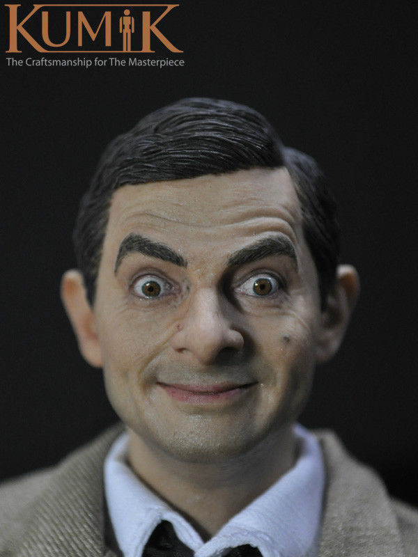1/6  Head Sculpt 13-81Male Figure Head Mr Bean Lifelike Headplay 12 Action Figure Collection Toys Gift<br>