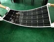 solar plant from China, solar kits, solar power 400w is 4 pcs of module 100W flexible solar panel, Suit for 12V  system.