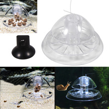 Aquarium Fish Plant Tank Plastic Snail Trap Catcher planarian Pest Leech Catch Shrimp Worm Bait Feed Box Nature Cleaner