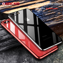 Phone Case For iPhone X 7 6 6S 8 Plus 3D Transparent Cover For iPhone 7 8 6 6S Plus Case Soft TPU Silicon Shell Capa(China)