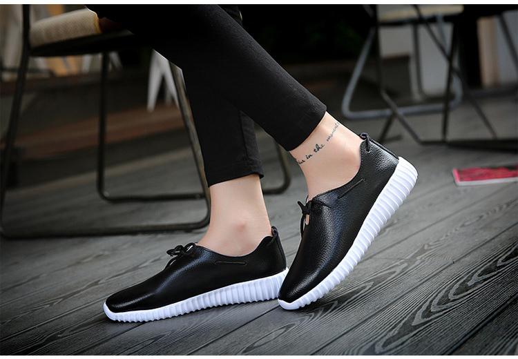 AH 2816 (14) Women's Leather Flats Shoes