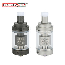 Digiflavor Siren 2 GTA MTL 4.5ml Genisis Tank Atomizer with 24mm Diameter & Large Build Deck Mouth to Lung Vaping for Box Mod(China)