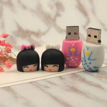 Gift Russian Dolls Model USB Flash Drive 4GB 8GB 16GB 32GB 64GB thumb drive pendrive USB2.0 memory stick Toy Usb Drive U disk