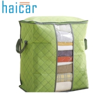 Haicar Large Clothes Bedding Duvet Zipped Pillows Non Woven Storage Bag Box organizers clothes Quality First