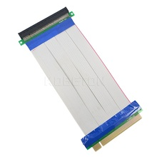PCI-E 16X to 16X riser card adapter extender cable PCI E 16 X Pci Express Flexible riser 20CM 1X 4X 8X 16X