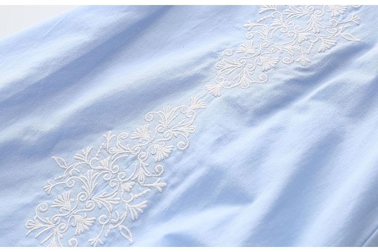 2018 Hot Summer 2-10 Years Brief Kids Lace Embroidery Flower Floral Sleeveless Flounce Vest Tank Sundress Girls Dress Cotton (15)