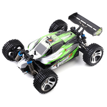 New WLtoys A959 - A 1:18 4WD RC Off-road Car RTR 35km/h 2.4GHz 2CH RC Car Splashproof with All Terrain Tires Shock Absorbers(China)