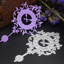 Small clock Metal Die Cutting Dies Stencis for Scrapboking Paper Card Album Photo Craft Art Embossing Painting Decor(China)