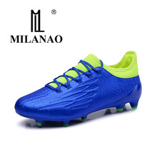 MILANAO Brand Men Soccer shoes 2017 New Arrival Summer Outdoor Sport Comfortable Football Shoes Sneakers(China)