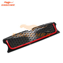 High quality Black and Red OEM front grille mesh grill FOR Land Rover Range Rover Sport 2010 2011 2012