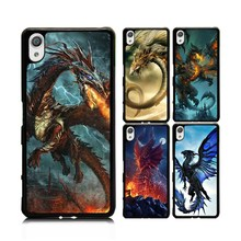 For Sony Xperia X Performance Cover Case Luxury War Dragon Age Drawing Hard PC Phone Case Shockproof Cover(China)