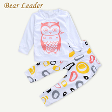 Buy Bear Leader 2016 New Baby Girls Clothes Set Long Sleeve T-shirt + Pants Owl Pattern Baby Clothing Set Newborn Baby Costume Suits for $8.99 in AliExpress store