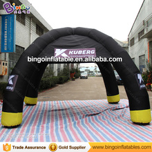 Good Quality Oxford 6M Inflatable Black Tent Inflatable Tents China with 4 legs for Party Event Wedding Inflatable outdoor toy(China)