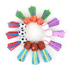 12PCS/LOT EVA Foam Mini Throwing Ball Kids Outdoor Toy Sports Parent-child Interactive Games Soft Interesting Toys For Children(China)