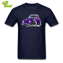 Volkswagen VW BEETLE 2 T shirt Guys Latest Unique Tee Shirt Home Wear T-Shirt Men Short Sleeve Picture Teenboys Clothing(China)